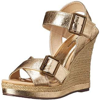 Michael Antonio Women's Gladwinn-MET Wedge Sandal