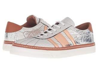 M Missoni Silver Sneakers Women's Shoes