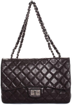 Chanel Brown Quilted Lambskin Leather Reissue 2.26 Single Flap Bag