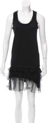 Lanvin Tiered Mini Dress