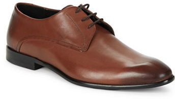 Hugo Boss Hugo Boss Burnished Leather Oxford Shoes