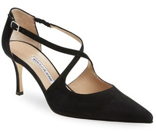 Women's Manolo Blahnik 'Umice' Pointy Toe Pump $745 thestylecure.com