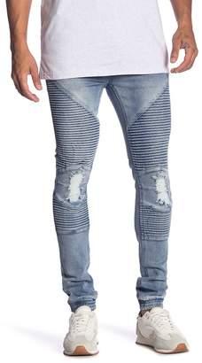 nANA jUDY Elastic Cuff Jogger Jeans
