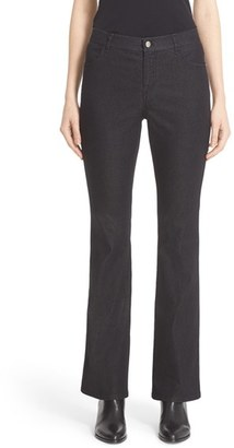 Women's Lafayette 148 New York 'Thompson' Stretch Bootcut Jeans $228 thestylecure.com