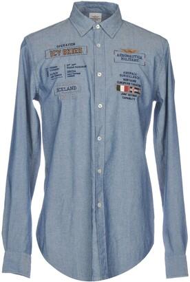 Aeronautica Militare Denim shirts
