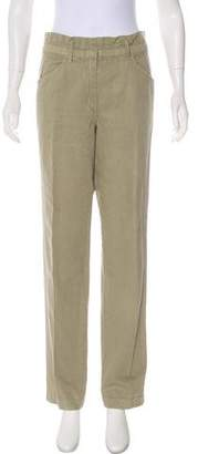Etoile Isabel Marant High-Rise Straight-Leg Pants