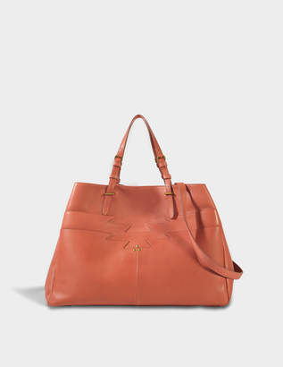 Jerome Dreyfuss Maurice Bag in Pink Lambskin