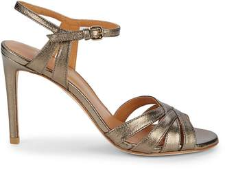 Stuart Weitzman Stiletto Heel Leather Sandals