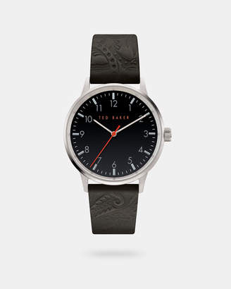 Ted Baker COSMOO Leather strap watch