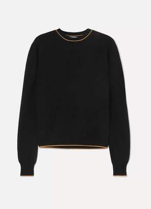 La Ligne - Neat Wool And Cashmere-blend Sweater - Black