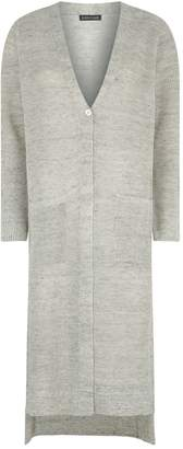 Eileen Fisher Linen Duster Cardigan