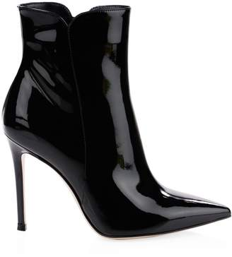 Gianvito Rossi Patent Leather High Heel Booties
