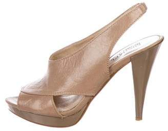MICHAEL Michael Kors Patent Leather Slingback Pumps