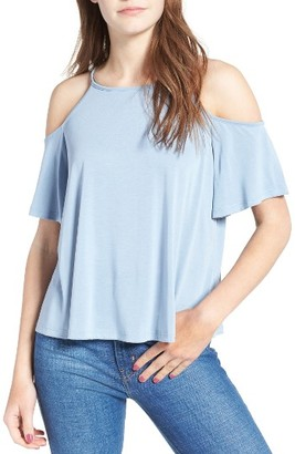 Women's Lush Cold Shoulder Top $35 thestylecure.com