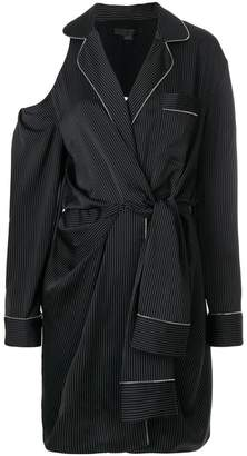 Alexander Wang draped pyjama style dress
