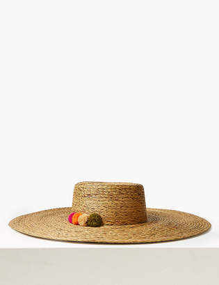 Marks and Spencer Brim Flat Top Sun Hat