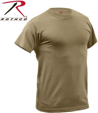 Rothco Quick Dry Moisture Wicking T-Shirt, Coyote Brown - 2X Large