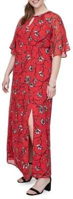 Junarose Plus Miriaz Short-Sleeve Maxi Dress