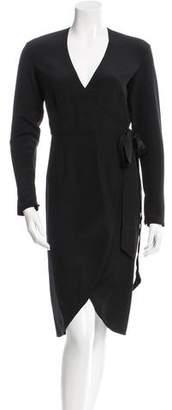 Other Stories Rodarte x & Long Sleeve Wrap Dress