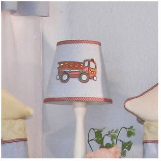 "Brandee Danielle Fire Engine 8"" Cotton Empire Lamp Shade"