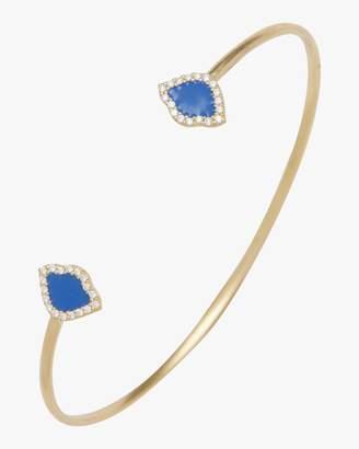 Amrapali Legend Kamalini Lotus Enamel Cuff Bracelet