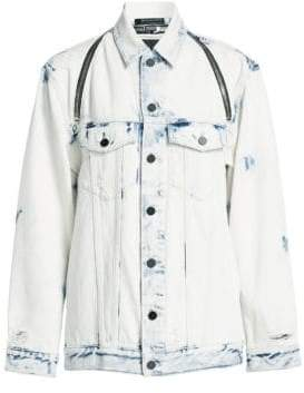 Alexander Wang Daze Bleached Jean Jacket
