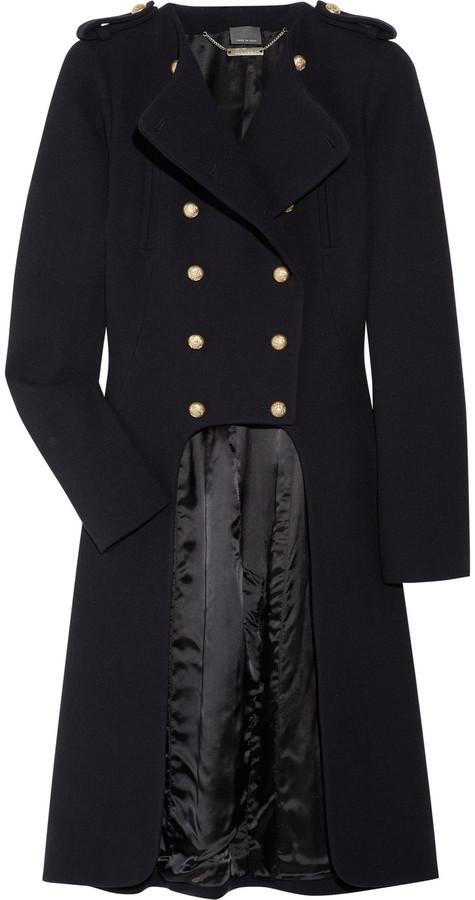 Alexander McQueen Military wool frock coat