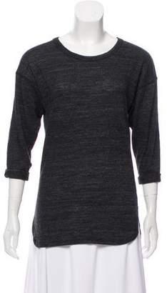 Etoile Isabel Marant Crew Neck Three-Quarter Length Sleeve T-Shirt