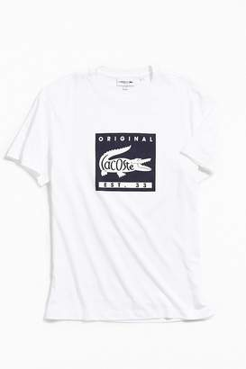 Lacoste Patch Graphic Tee