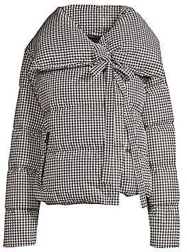 Bacon Women's Houndstooth Puffer Jacket