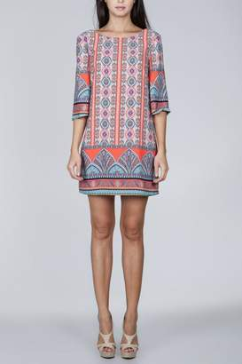 Ark & Co Coral Printed Dress