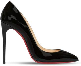 Christian Louboutin 100MM PIGALLE FOLLIES PATENT PUMPS