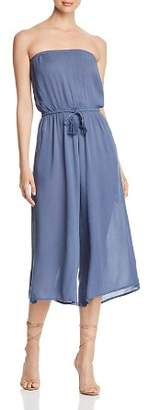 Elan International Semi-Sheer Strapless Jumpsuit