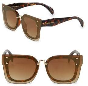 Sam Edelman 54MM Tinted Square Sunglasses