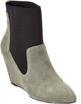 Charles by Charles David Erie Leather Wedge Bootie
