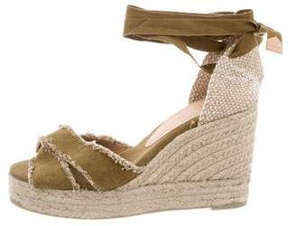 Castaner Wrap-Around Wedge Sandals