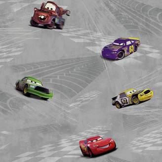 York Wall Coverings York Wallcoverings Disney's Cars Racing Removable Wallpaper