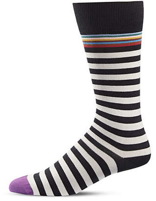 Paul Smith Contrast Stripes Knee-High Socks