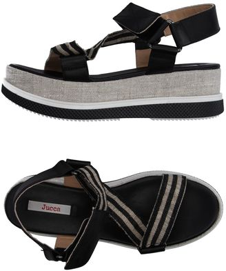 JUCCA Sandals $185 thestylecure.com