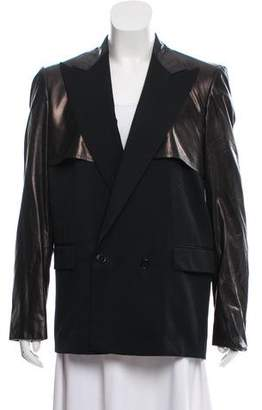 Bottega Veneta Wool Notch-Lapel Blazer