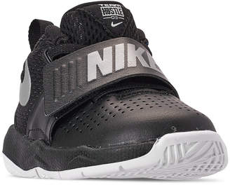 945097764438 Nike Toddler Boys  Team Hustle D8 Basketball Sneakers from Finish Line
