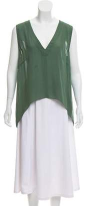 Mason Silk Sleeveless