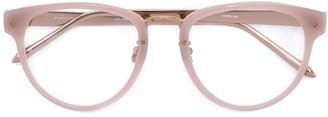 Linda Farrow Gallery round frame glasses
