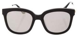 Gentle Monster Mirrored Oversize Sunglasses