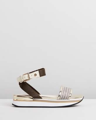 Emporio Armani Wedge Heel Sandals