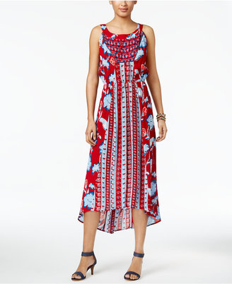 Style & Co Field Of Dreams Maxi Dress, Only at Macy's $69.50 thestylecure.com