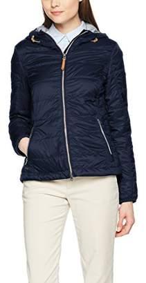 Camel Active Women's 5X44 Blouson Long Sleeve Jacket - Blue - UK 8