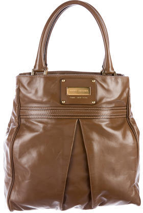 Marc Jacobs Marc Jacobs Smooth Leather Satchel