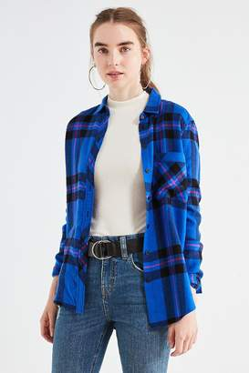 BDG Molly Flannel Button-Down Shirt