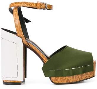 Marni staple detail sandals